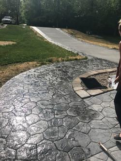 Random Rock Driveway