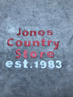 Company Logo Stained Sealed
