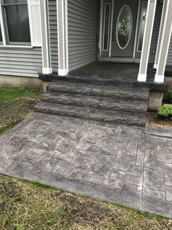 Ashler Slate Steps