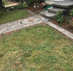 Texture Steps & Garden Curbing
