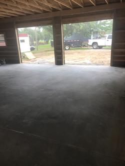 Garage Flatwork Concrete