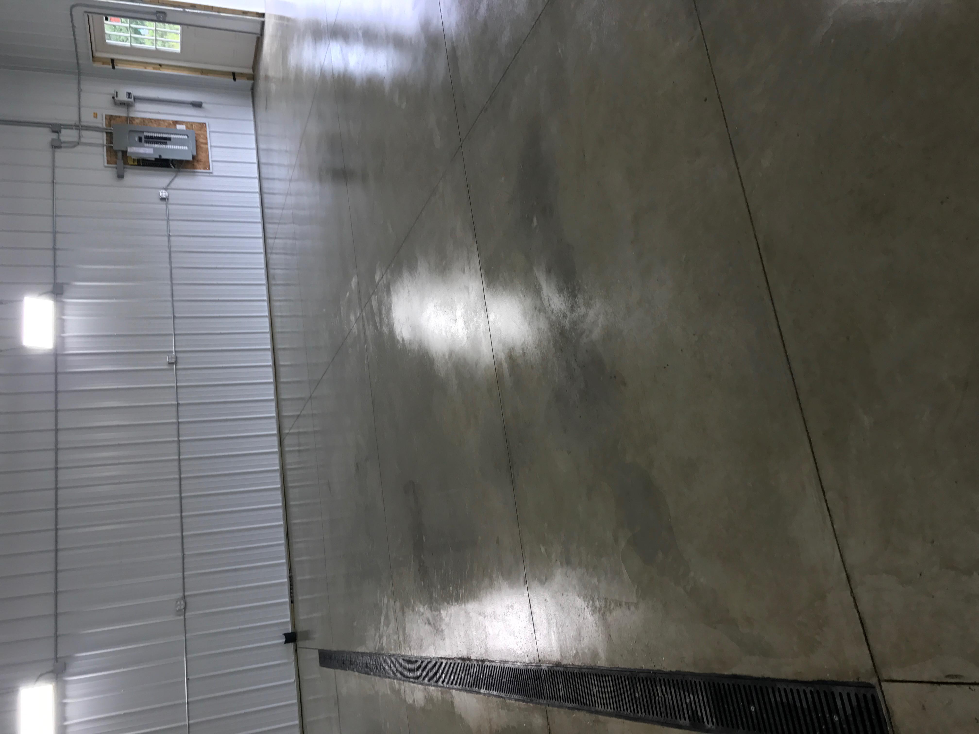 Pole Barn In-Floor Heat