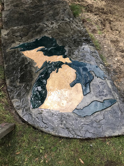 Michigan Stamped Concrete