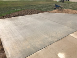 Broom Finish Expansion to Driveway