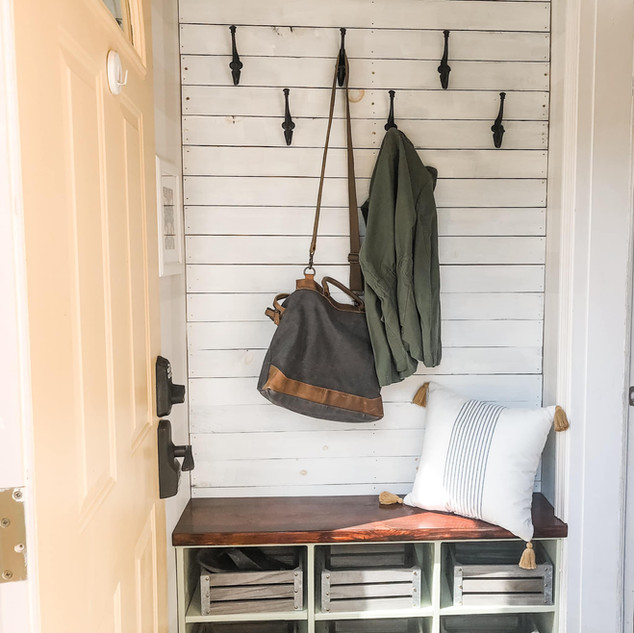 Modern Farmhouse Entry Way