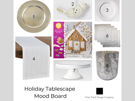 Mood Board Monday - Holiday Tablescape Edition