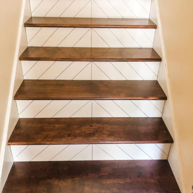 Modern Farmhouse Stairs