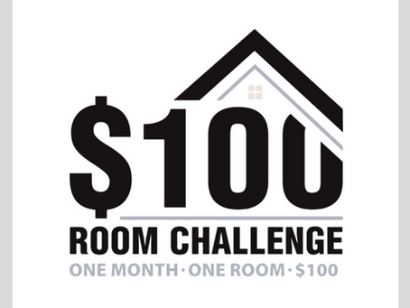 $100 Room Challenge - The Reveals!