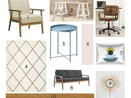 Mood Board Monday - My Home Office!