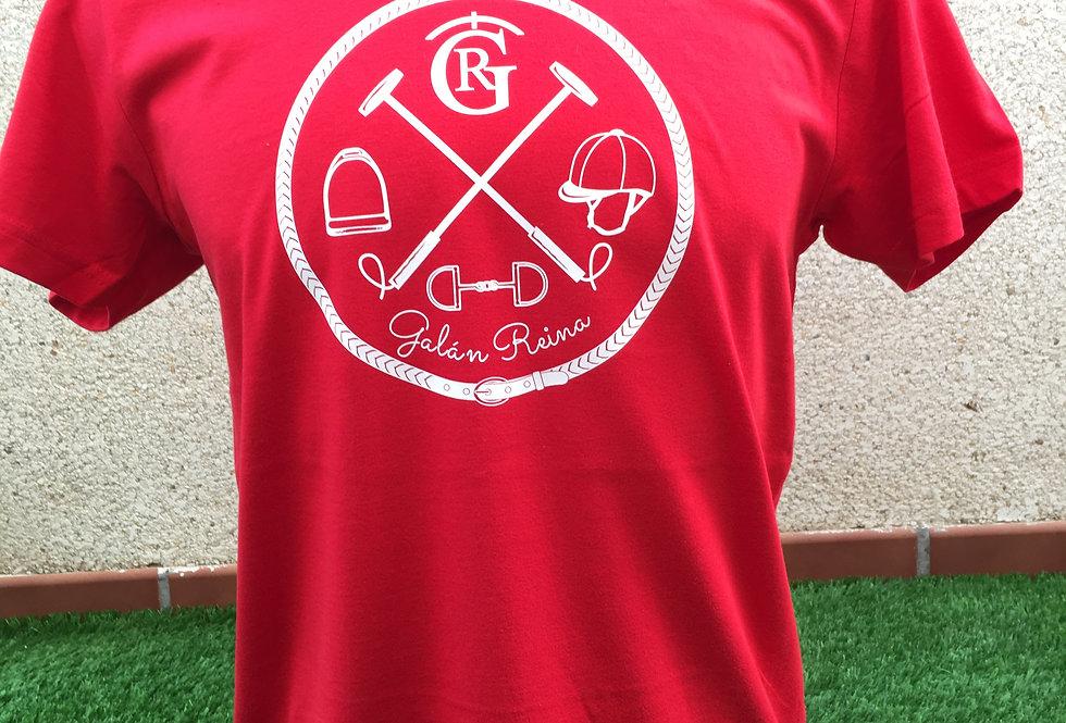 Camiseta Pimontano roja