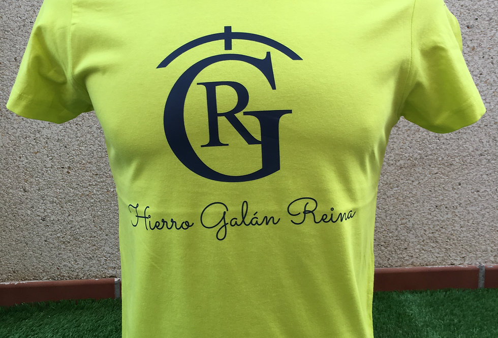 Camiseta Hierro limón