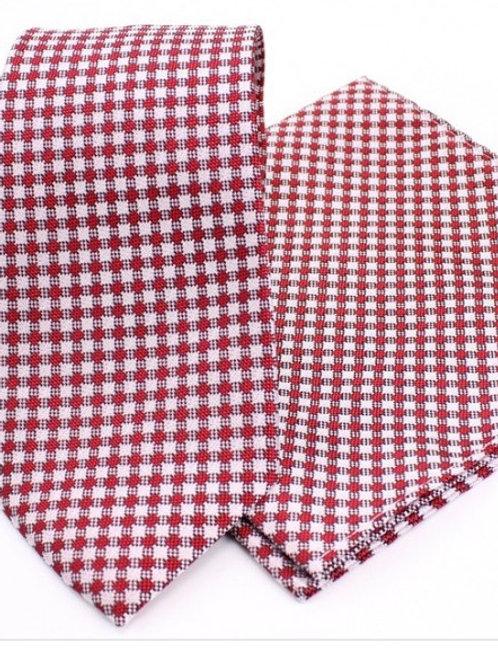 Cobata + pañuelo  textón roja