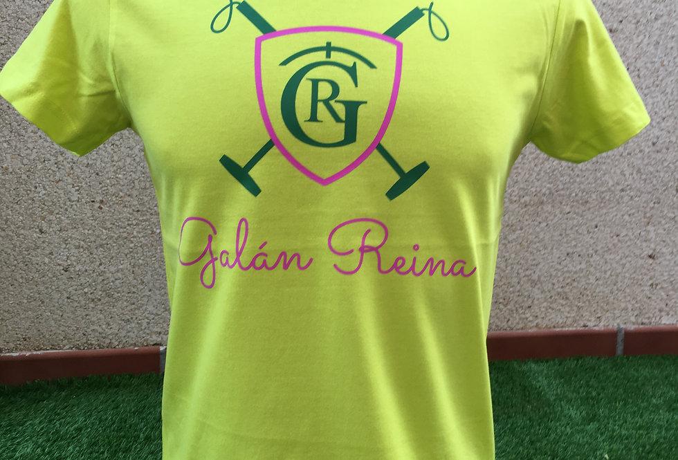 Camiseta Polo Sport limón