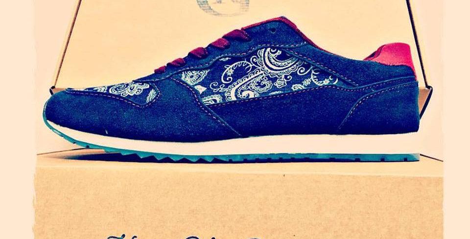 Zapatillas Mod Aries  azul
