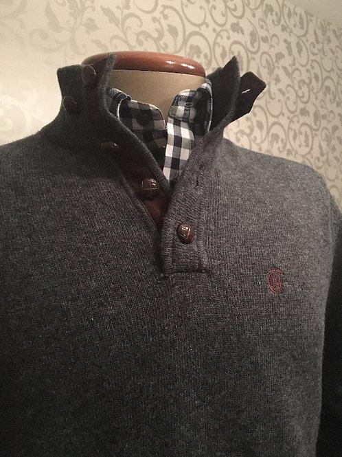 D. Jersey lana Gris