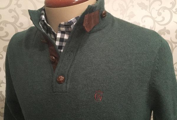 D. Jersey lana oliva