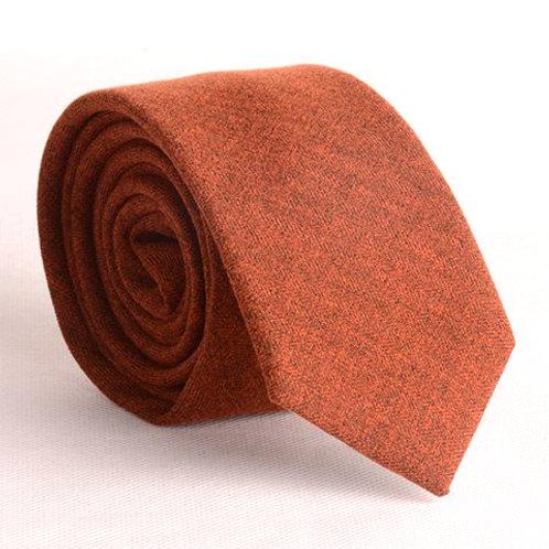 Corbata de Lana tostada