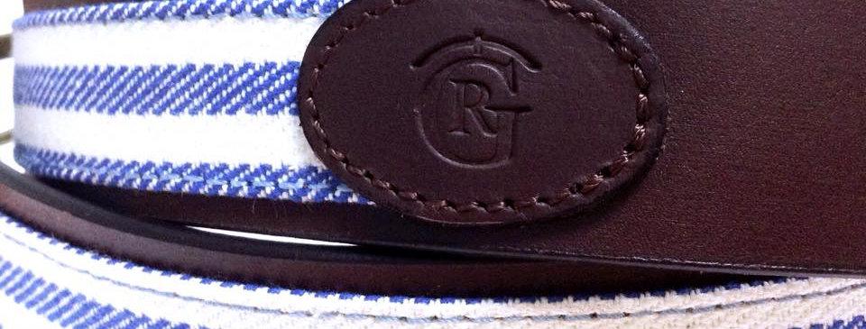 Cinturón artesano 1235 C/B
