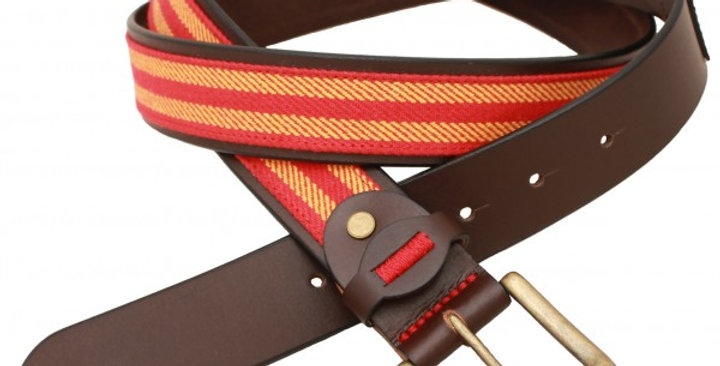 Cinturón artesano 1235 Ro/Ama