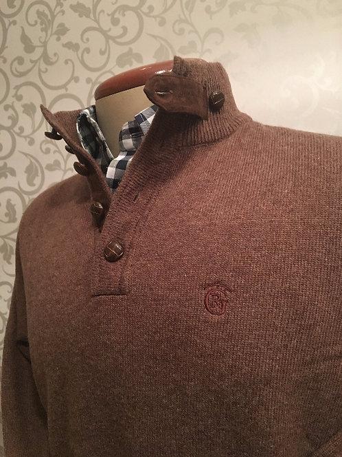 jersey lana marrón