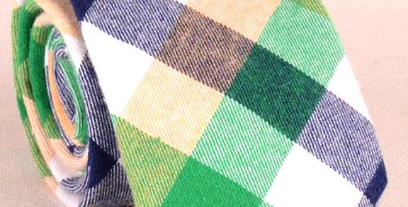 Corbata Multicolor Tartán