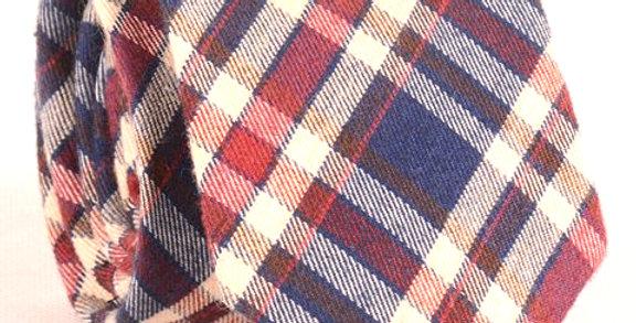 D.Corbata de lana Tartán 1