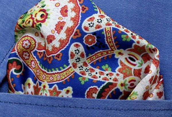 Pañuelo cashmire multicolor
