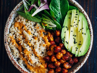 Vegetarian Recipe of the Month: Vegan Buddha Bowl