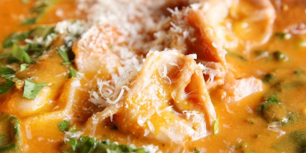 Sun-Dried Tomato Tortellini Soup By Judy Kim