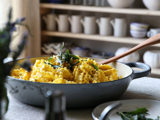 Vegetarian Recipe of the Month: Creamy Roasted Pumpkin Pasta