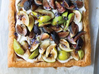 Lavender and Fig Tart