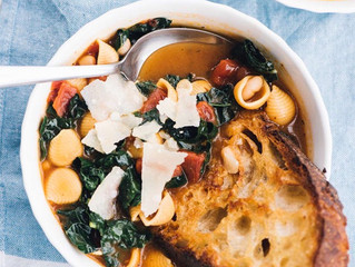 Vegetarian Recipe of the Month: One-Pot Tuscan White Bean Stew