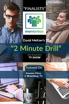 Mentorbox was the finalist of David Meltzer's 2 Minute Drill TV Show.