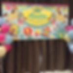 BB 100日百日宴party佈置海報背景板