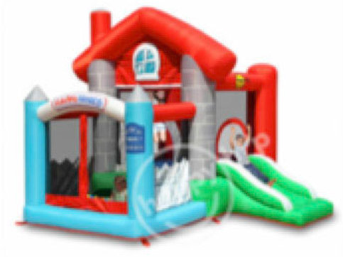 Happy House Jumping Castle with Ball Pool(S)