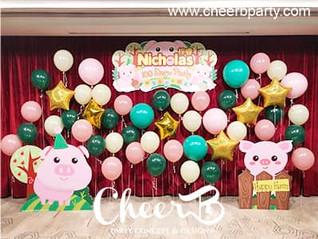 百日宴氣球牆佈置2.jpg