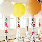 百日宴生日派對座地氣球佈置