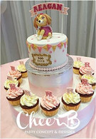 girl dog theme birthday cake.jpg