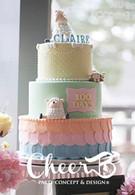 精緻翻糖生日蛋糕100 days cake.JPG.jpg