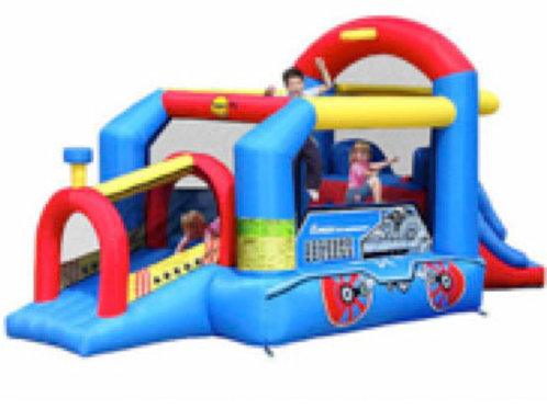 bouncy train jumping castle(M)
