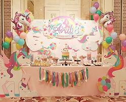 兒童生日派對佈置連candy corner