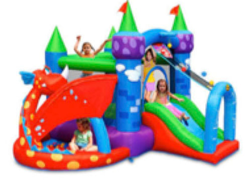 Dragon Adventure Bouncy castle(M)