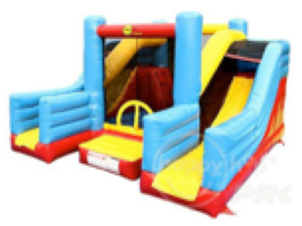 Super Bouncer with Double Slides (L)