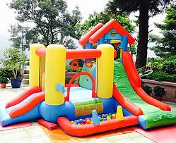 生日派對充氣彈床城堡玩具-香港