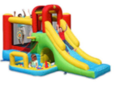 8 in 1 Adventure Bouncy Castle(M)