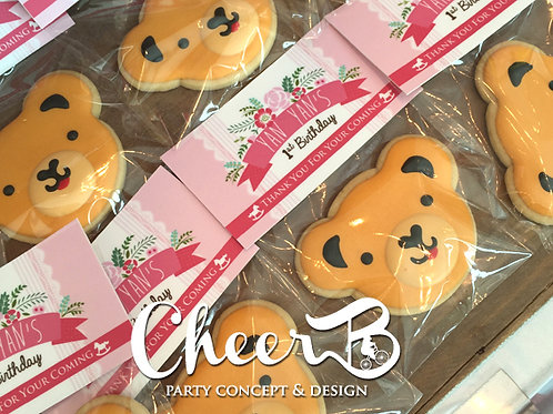 GBo Bear Icing Cookie Pack