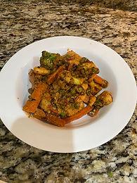 Prawn Balti with Creamy Vegetables