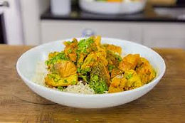 Salmon & Cauliflower Curry