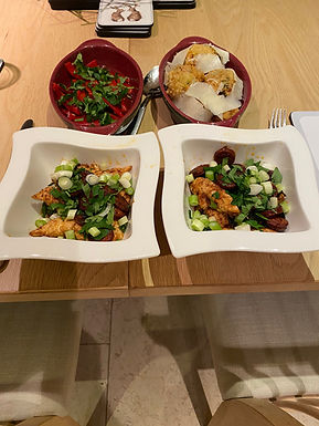 Chorizo & Chicken Tapas