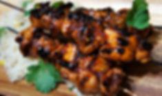 Sambai Chicken Skewers